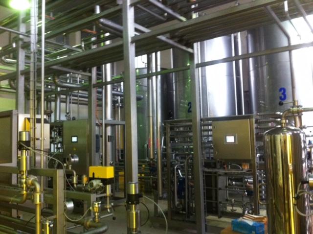 Một số hình ảnh hệ thống sản xuất bia của công ty